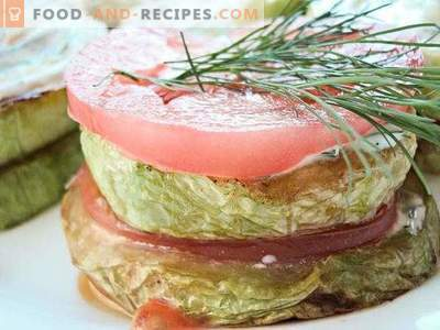 Zucchine fritte con pomodoro e aglio