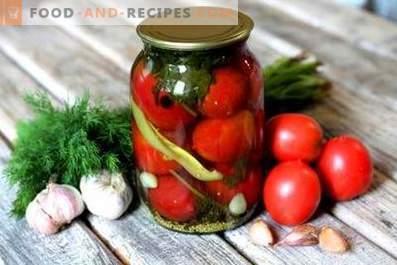 Inlagda tomater med äppelcidervinäger