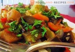 Как да приготвяте зеленчукови ястия