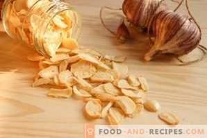 Come asciugare l'aglio a casa