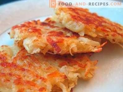Бързо картофени палачинки