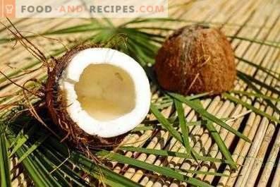 Как да съхранявате кокос