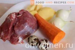 Супа с телешко месо