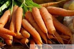 Как да замрази морковите за зимата