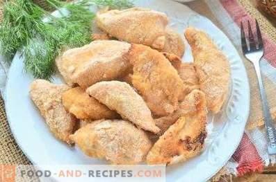 Пилешки гради печени во лебници