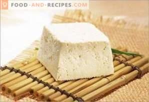 Tofu sir: koristi in škoda