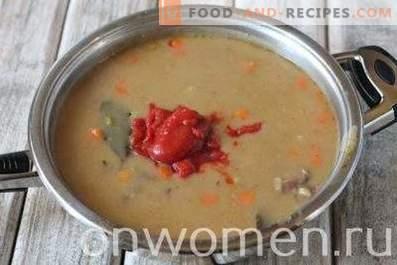 Gulash de ternera con salsa