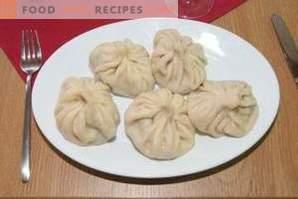 Cómo cocinar khinkali