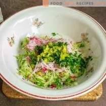 Gegrillter Kürbis mit cremiger Gemüsesauce