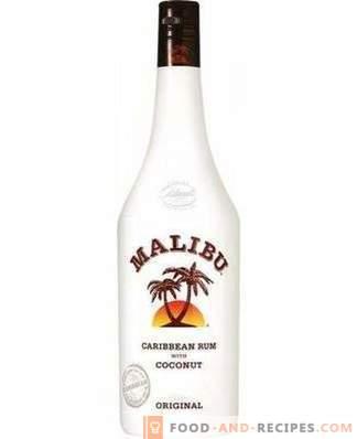 Comment boire de la liqueur Malibu