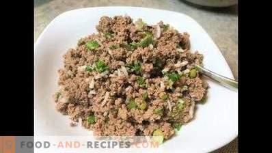 Relleno de carne para empanadas